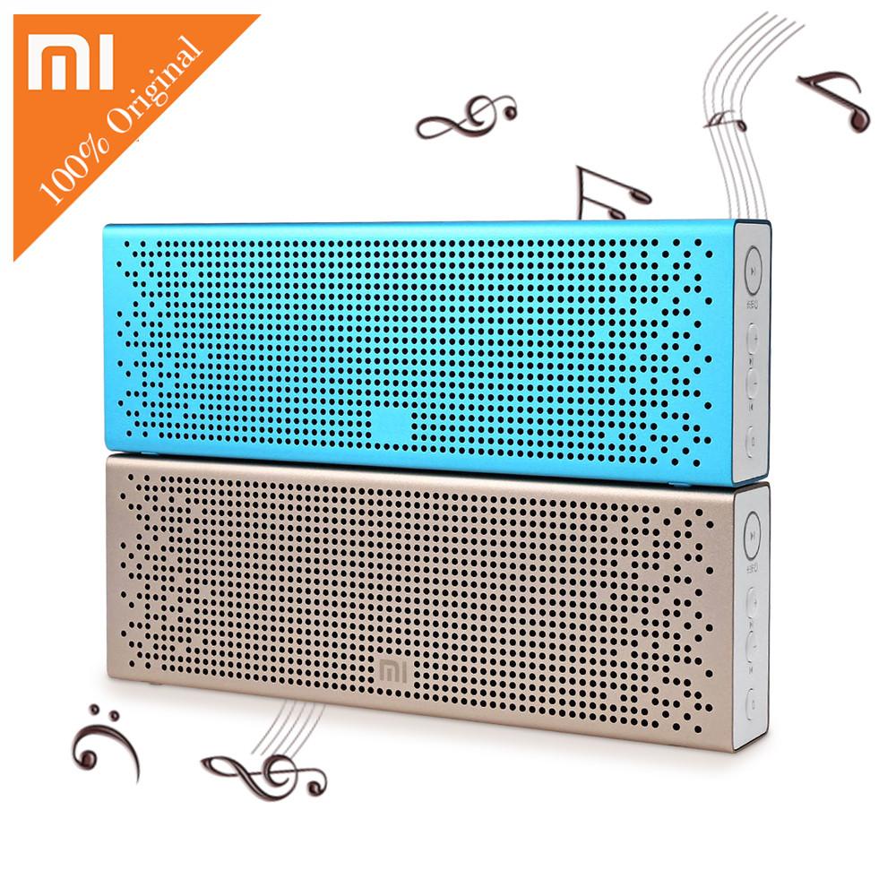 Prix pour D'origine Xiaomi Mi Bluetooth Haut-Parleur Mains Libres Sans Fil Haut-Parleur Stéréo Mini Portable Bluetooth Haut-Parleur pour Téléphone iphone TF Carte