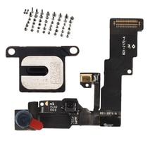 Pour iPhone 6 6Plus 6s 6s Plus caméra frontale capteur de lumière de proximité câble flexible avec haut parleur écouteur + vis de réglage complètes