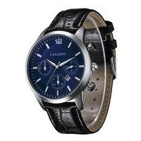 Moda Hot Relógios Cagarny Super Man Top Marca de Luxo Relógios Homens Relógio Dos Homens das Mulheres Moda Quartzo Relogio Masculion Para presente