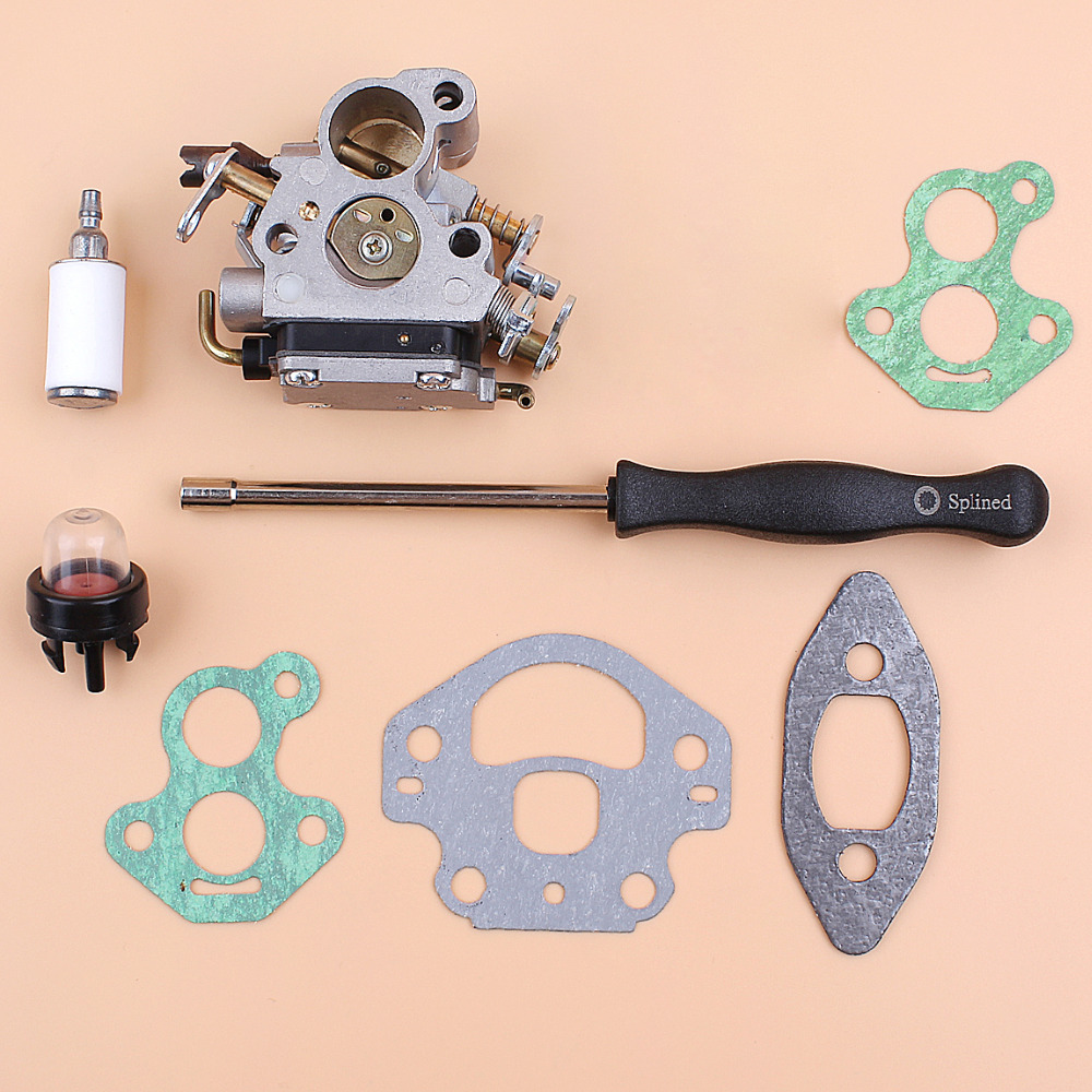 Carburetor Gasket Adjust Screwdrive Kit For HUSQVARNA 240 235 236 236E 240E OEM 574719402 545072601 Chainsaw Spares