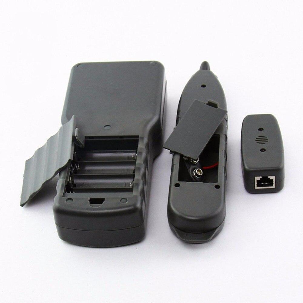 Noyafa NF-8200 LAN RJ45 testeur de câble réseau Ethernet traqueur de câble testeur de longueur de câble avec rétroéclairage LCD - 4