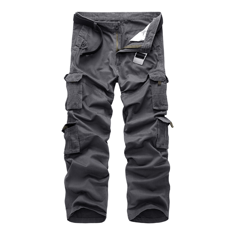 2018 New Cargo Pants Men Hot Sale Good Quality Brand Clothing Casual Design Outwear Work Pants Fashion Autumn Winter Men Trouser ...