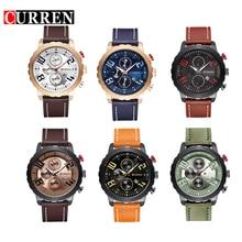 2016 Deporte Militar Reloj de Moda CURREN Marca Hombres Reloj de pulsera Reloj de Cuarzo Relojes Con Fecha reloj de pulsera Reloj Masculino Del Relogio masculinos