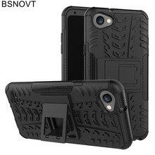 цена на For Cover LG Q6 Case Soft TPU +Hard Plastic Phone Holder Anti-knock Phone Case For LG G6 Mini Case For LG Q6A M700 Funda BSNOVT