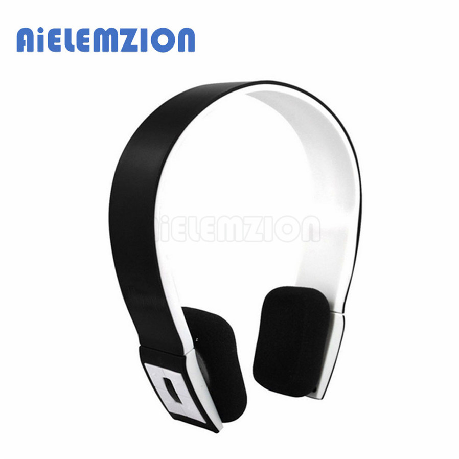 AiELEMZION Wireless Stereo Bluetooth Sport Headphones with Microphone Sports Earphones Noise Canceling Headband Headsets 2016 white and black joway h 08 wireless noise cancelling voice control sports stereo bluetooth v4 0 earphones with microphone