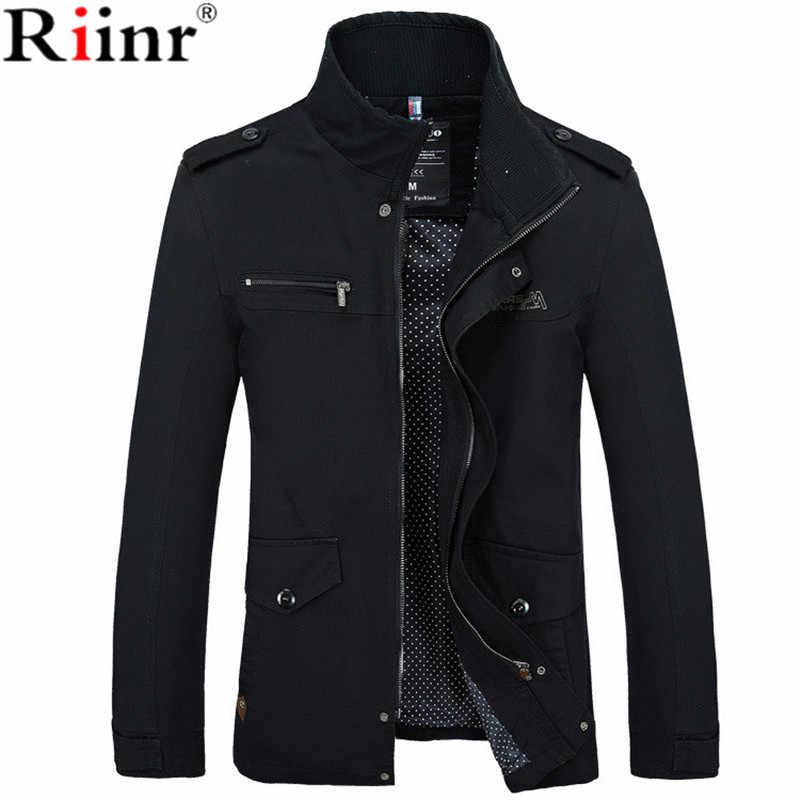 Одежда пальто новое поступление мужская куртка приталенная Высококачественная Мужская весенняя одежда Мужские куртки на молнии теплая с хлопковой подкладкой