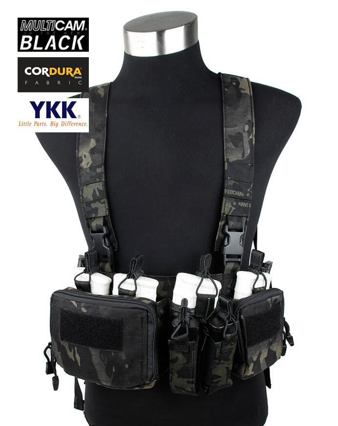762 Chest Rig Multicam Black Airsoft Military Tactical Strategic Chest Rig+Free shipping(STG050821)