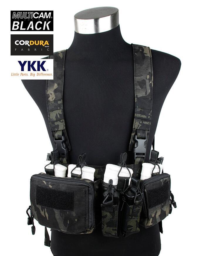 762 Chest Rig Multicam Black Airsoft Military Tactical Strategic Chest Rig+Free shipping(STG050821) механический мод rig v3 черный клон