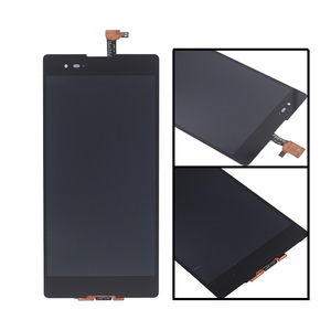 Image 2 - For Sony Xperia T2 Ultra LCD Display Touch screen D5322 D5303 D5306 with frame digitizer replacement For Sony Xperia T2 Ultra