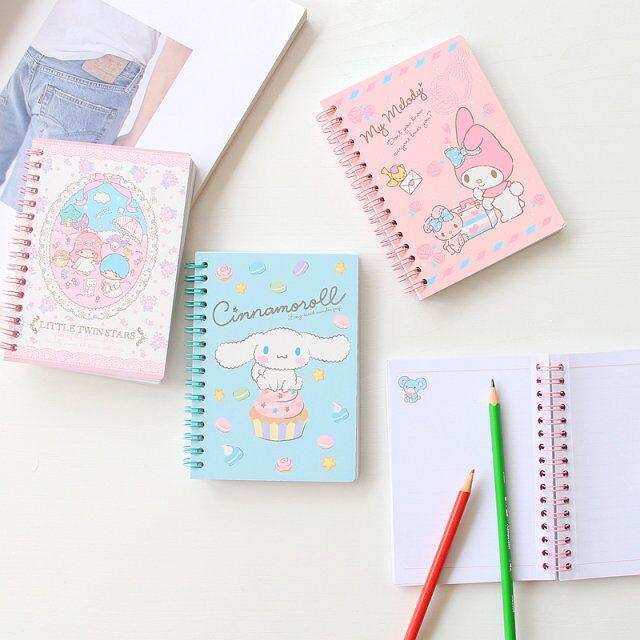 Cute Japan Cartoon Melody Cinnamoroll Notebook Album DIY Craft