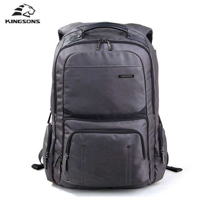 Kingsons Brand Men Backpack Nylon Shockproof Laptop Back Pack 15.6 Inches Male Bags Daypacks Student Travel Bagpack Mochila