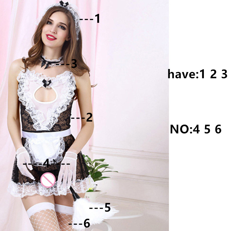 Women 39 s Button Sexy lingerie Doctor maid Costume Babydoll Erotic Lingerie Sexy product cosplay Clothing Deep V Neck Temptation
