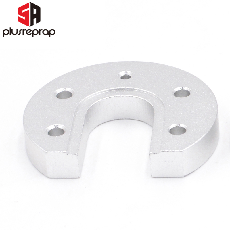 1PC V5 V6 J-Head Hotend Aluminium Mounting Plate U-shaped For Reprap Kossel 3D Printer Shipping With Tracking Number