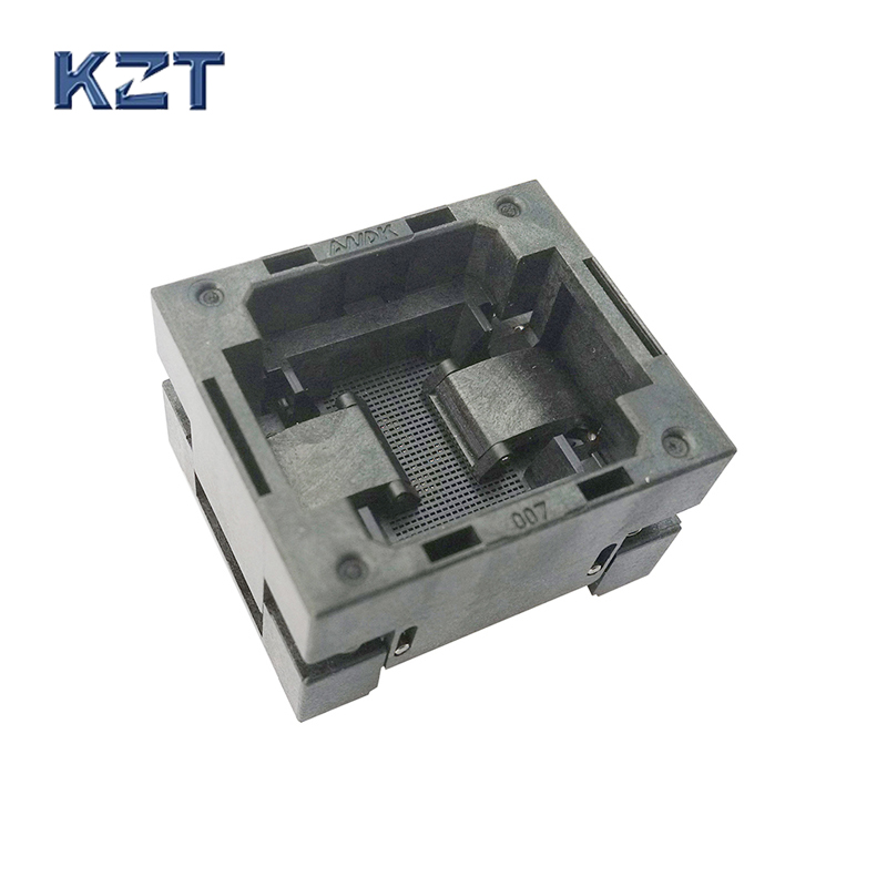 BGA68 OPEN TOP burn in socket pitch 0.8mm IC size 8*12mm BGA68(8*12)-0.8-TP01NT BGA68 VFBGA68 burn in programmer socket bga140 open top burn in socket pitch 0 65mm ic size 7 10mm bga140 7 10 0 65 tp01nt bga140 vfbga140 burn in programmer socket