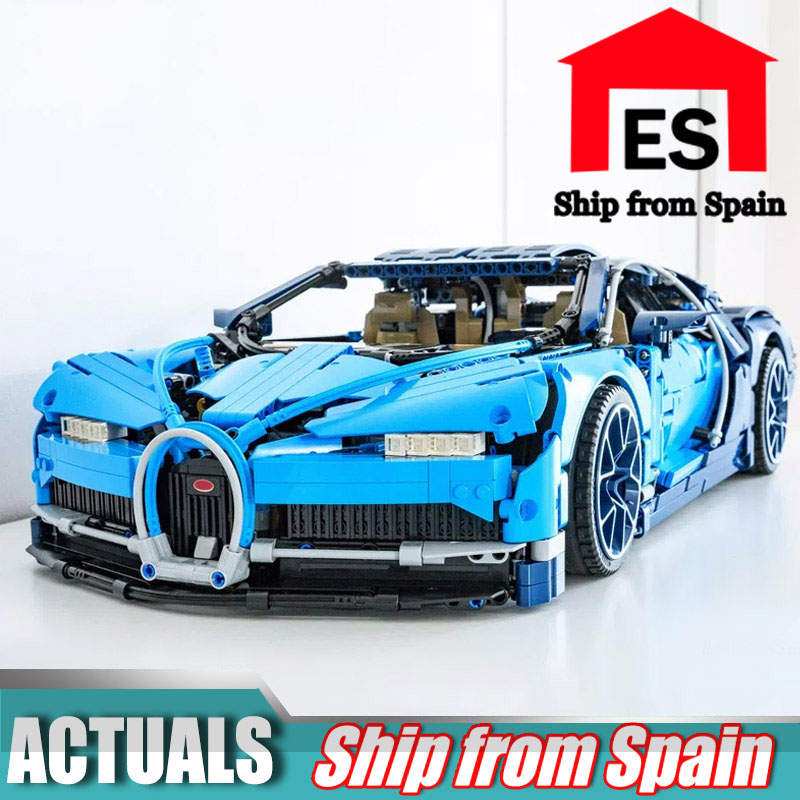 20086 Bugatti Chiron Racing Car Sets Compatible with 42083 building Blocks Technic Car Model Brick Toys