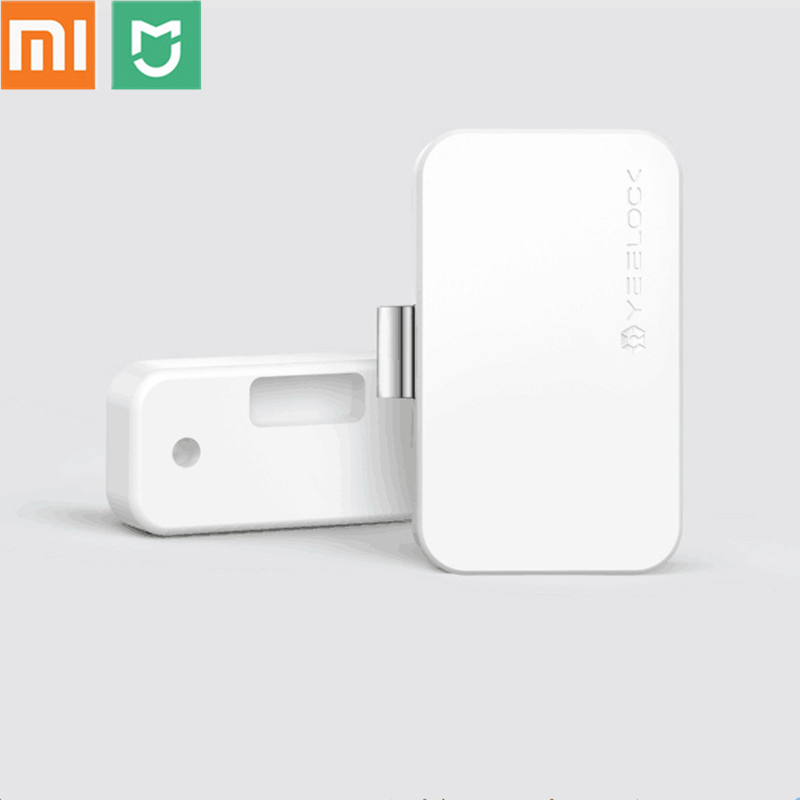 Xiaomi MIjia YEELOCK Smart Drawer Cabinet Lock Bluetooth APP Unlock Anti Theft Child Safety File Security For Home Office Etc