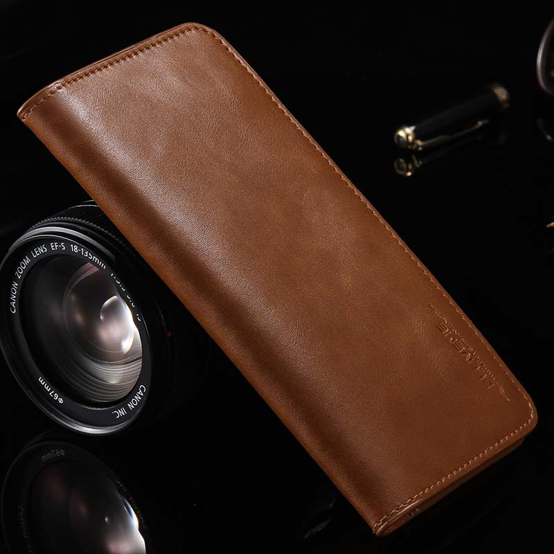 FLOVEME Original Case Luxury Business Wallet Pouch Phone Case Leather Universal Case Cover For Xiaomi Redmi