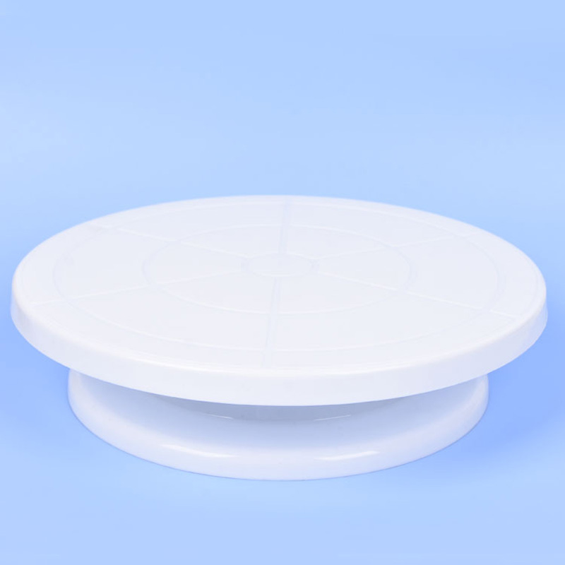 Plastic 28cm Cake Rotating Display Stand Turntable for Cake Icing Decorating