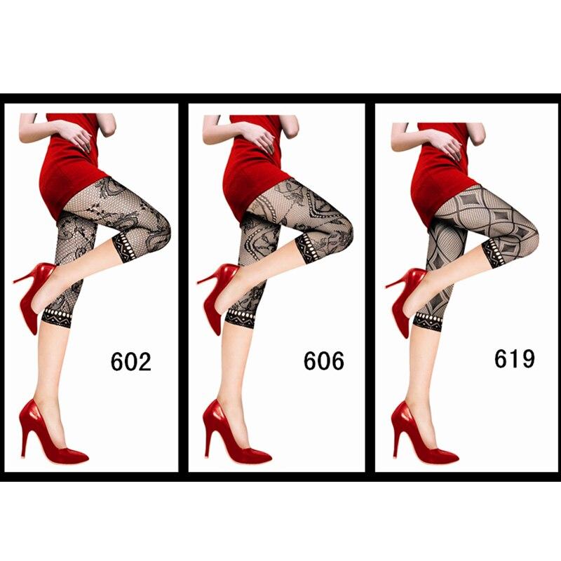 women stockings 3 Style sexy mesh tights 2019 thigh high Capri stocking fishnet pantyhose fancy lingeries night club