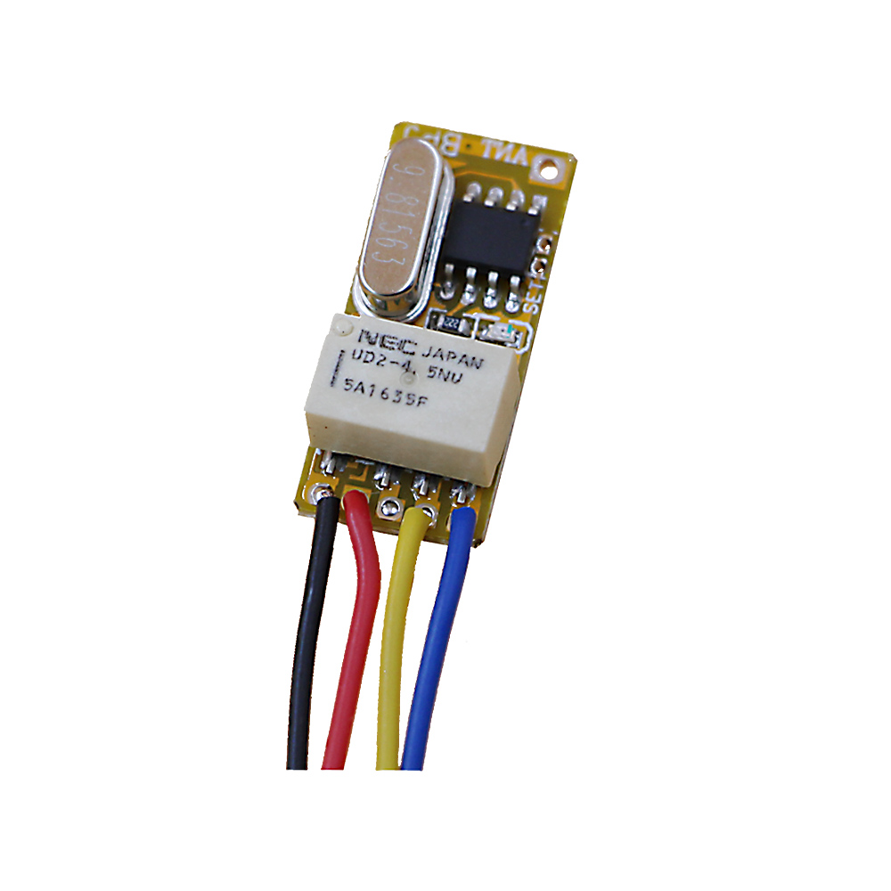 Buy Mini Relay Remote Switch Door Open Button Wiring A Close Circuit Wireless 37v 5v 6v 74v 9v 12v Micro Small From