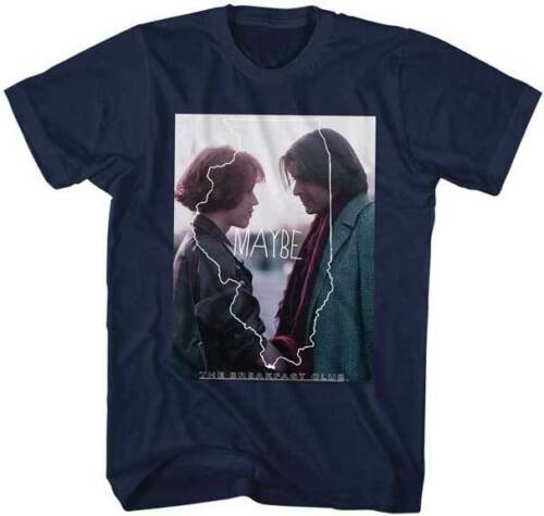 The New The Breakfast Club <font><b>Illinois</b></font> Silhouette Maybe Adult T Shirt Classic Movie Cotton 100% cotton tee shirt image