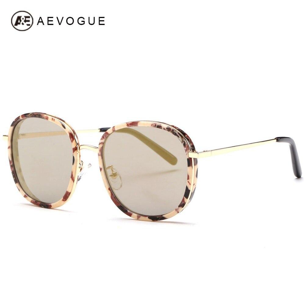 1af2d5b0964 AEVOGUE Newest AlloyTemple Sunglasses Women Summer Style Sun Glasses  Original Brand Designer Oculos De Sol Feminino UV400 AE0276