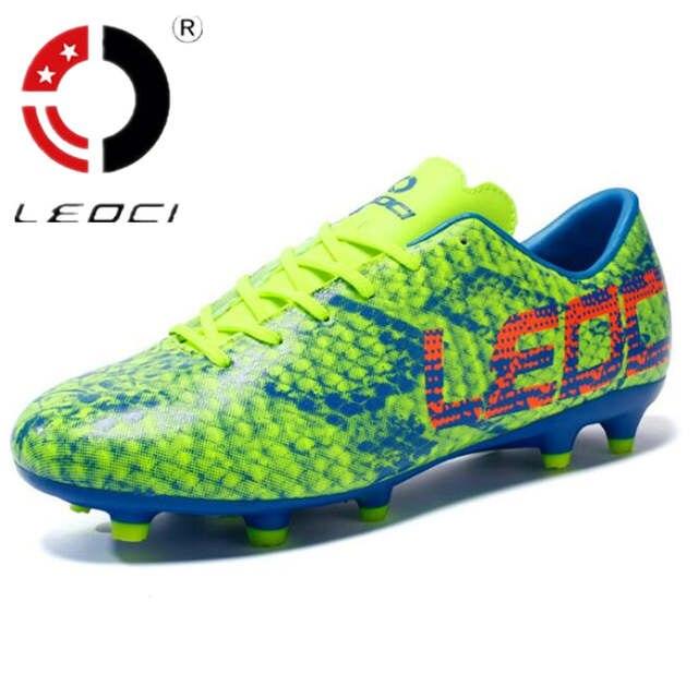Online Shop LEOCI Outdoor Sneakers Botines Soccer Shoes for Men  dc39264c4aa6