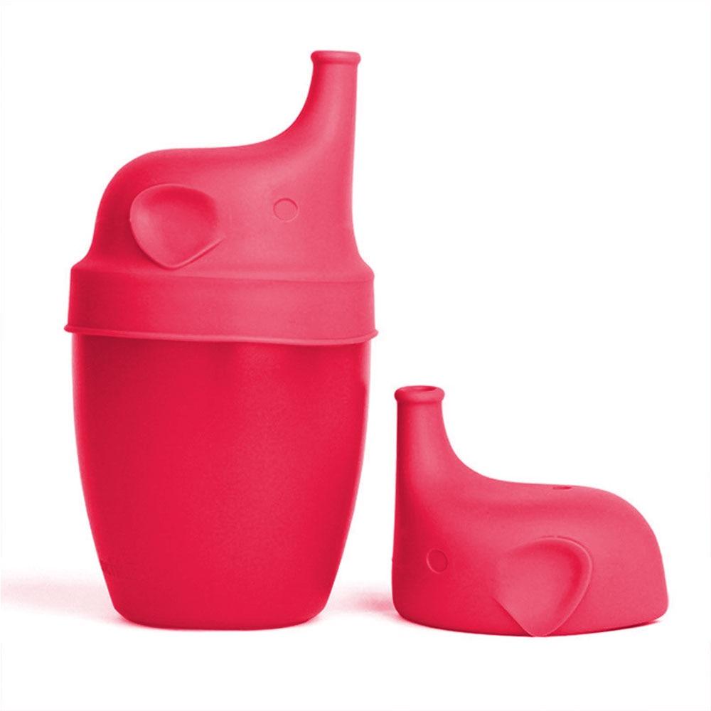 Сиппи открывающаяся крышка Силиконовая Стекло чашки ребенка поставить защита от проливов питья силиконовая крышка детские бутылочки Кепки аксессуары для бутылок