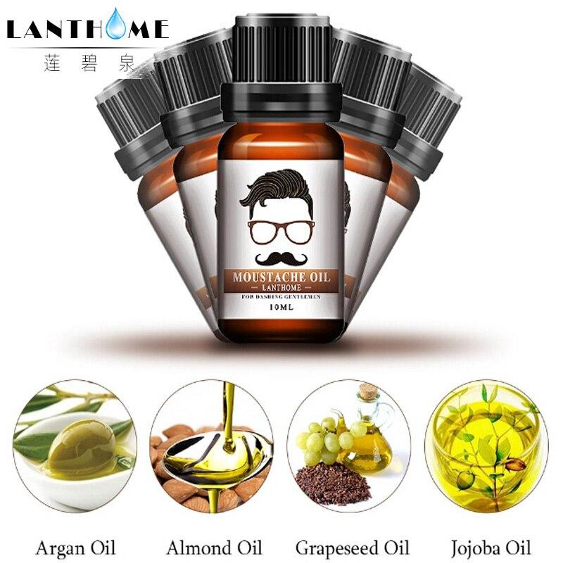 3pcs beard oil men for dashing gentlemen moustache tool for