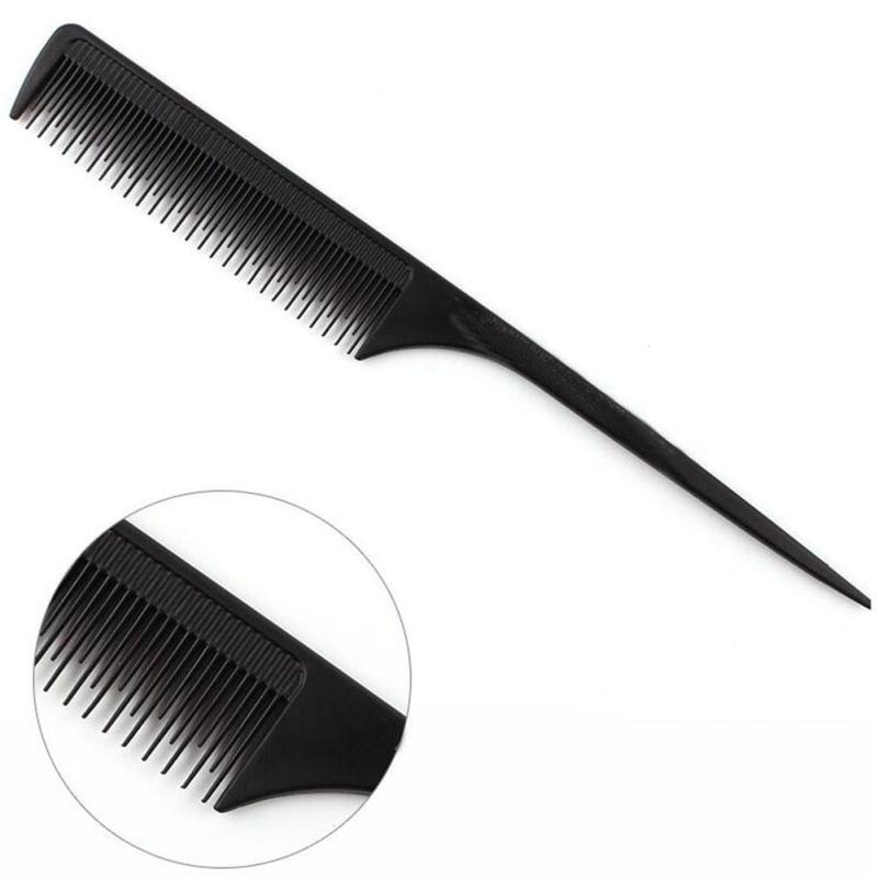 1Pc Black Hair Brush Comb Salon Barber Anti-static Hair Combs Hairbrush Hairdressing Combs Hair Care Styling Tools Y3