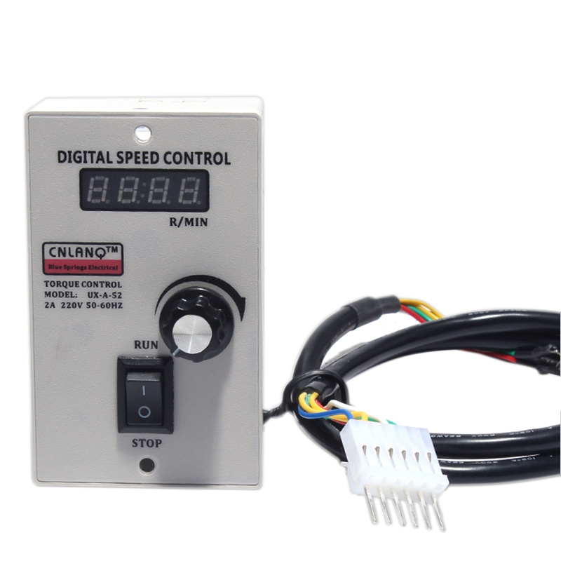 Digital Display Us-52 400W Ux-52 220Ac Speed Motor Controller Regulated Speed Forword Backword ControllerDigital Display Us-52 400W Ux-52 220Ac Speed Motor Controller Regulated Speed Forword Backword Controller
