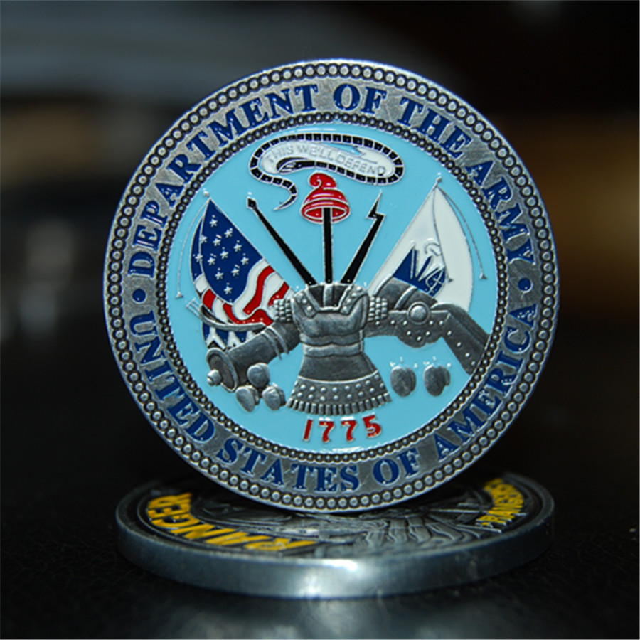 US Army Ranger Challenge Coin - Rangers Lead The Way (3)