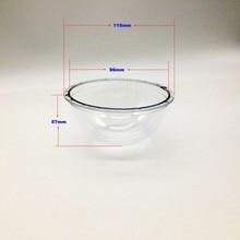 Видеонаблюдения акрил закрытый IP купола Камера Корпус Крышка держать объектив чистой 115×57 мм защиты чехол antidust
