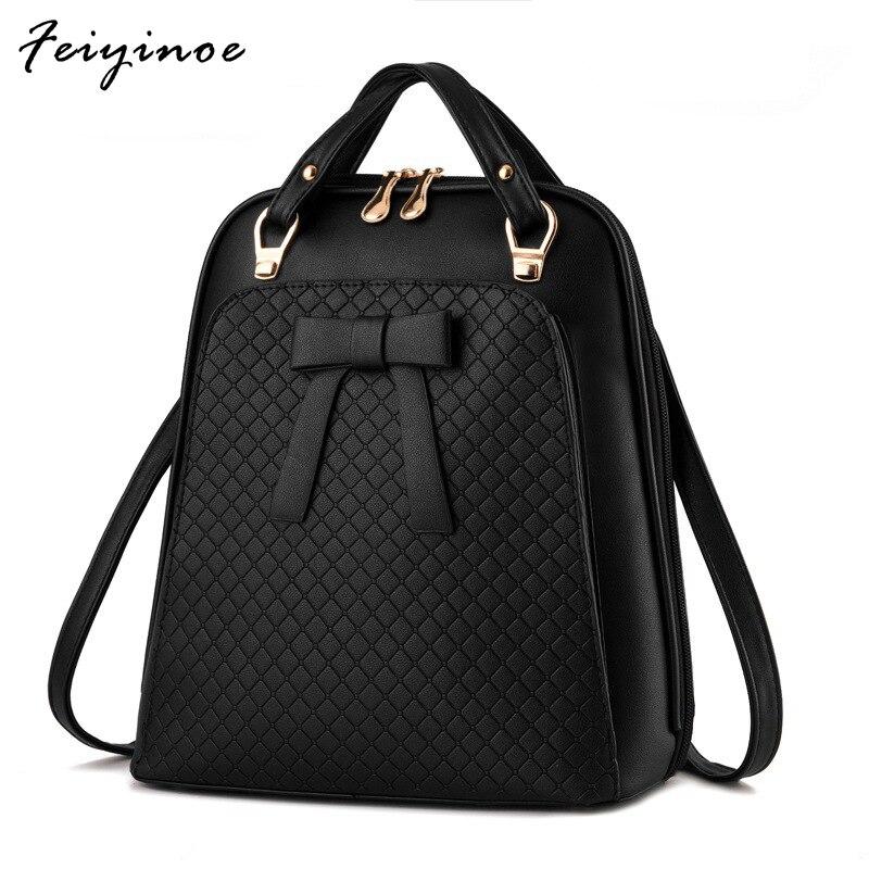 Дамы рюкзак мешок плеча корейской версии приток женщины сумка Школа Искусственная кожа рюкзак