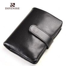 Difenise OL style mens wallets luxury Genuine Nappa First Cowhide Leather fashion men purse men cash wallet male money clutch