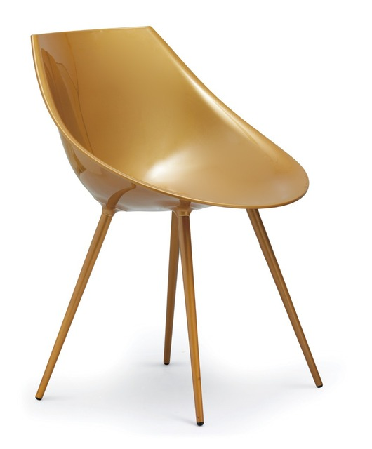 Free Shipping   Philippe Starck Lago Chair,Golden Egg Chair,Designer  Furniture,Dining Chair,Smooth And Shiny,Fashion Chair