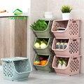 JiangChaoBo цельнокроеное платье корзина для хранения Пластик для хранения игрушек корзины Кухня закуски овощная корзина Ванная комната Полки