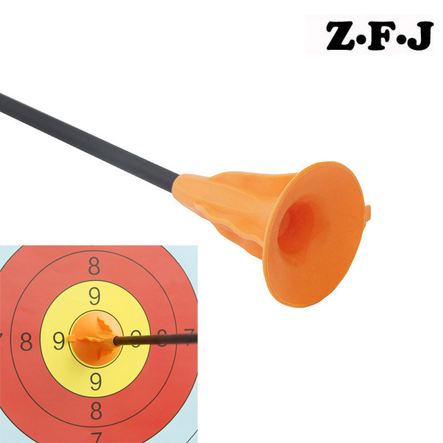 12pcs Bow Arrow Head Sucker Portable Rubber Arrowhead Point Soft Suckers Children Archery Toy Shooting Replacement Suction Cup