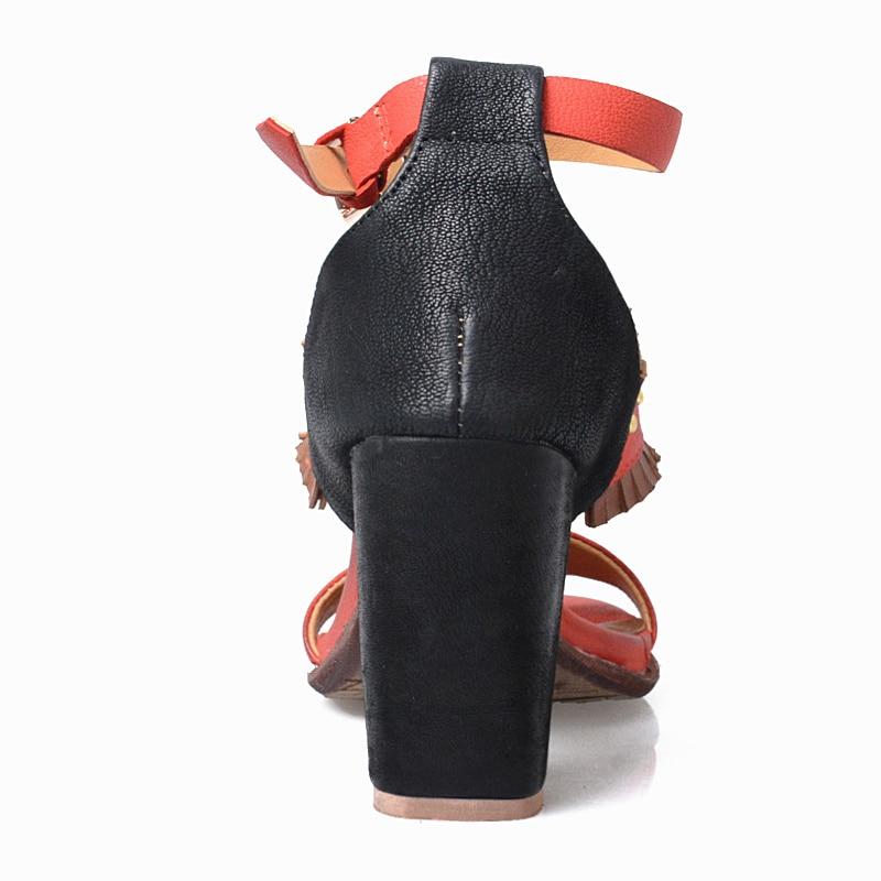 Chaussure Brodé Mélangée Femme Perle Romain Red Hauts green Prova Ethnique Sandale Talons Sandales Bohème Couleur Cheville Perfetto De 2017 D'été Bracelet Zw0q0WO4