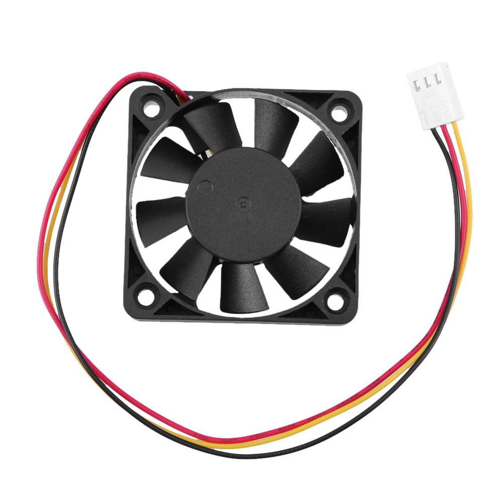 12V  3 Pin CPU 5cm Cooling Cooler Fan Heatsinks Radiator  50 x 50 x 10mm cooling fan for PC Computer aerocool 15 blade 1 56w mute model computer cpu cooling fan black 12 x 12cm 7v