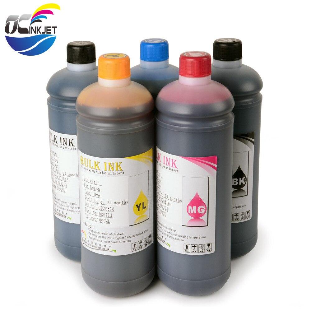 OCINKJET Universal High Quality Dye Ink For Epson 7700/9700/7710/9710/T3000/T5000/T7000/T3080/T5080/T7080/T3070/T5070 Printer