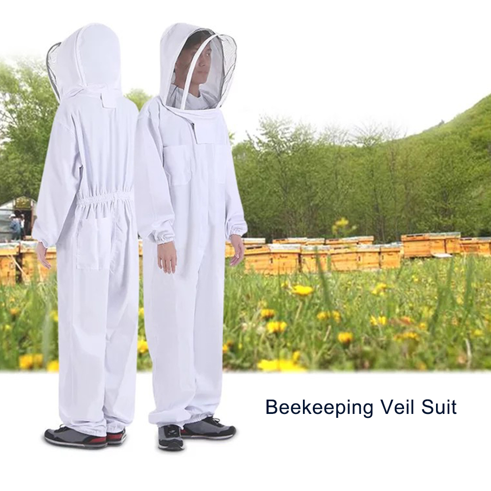 Image 3 - Outdoor Tools Beekeeping Veil Suit Jacket Thick Beekeeper Protective Clothing Anti bee Clothes Bee Hat Equipment Outdoor Tools-in Outdoor Tools from Sports & Entertainment