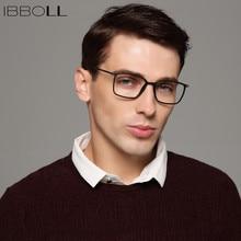 49ea30a95b Ibboll Mens óptica gafas marcos marca de lujo Wrap marcos cuadrados moda  Vintage gafas marco hombres Oculos masculino S6075