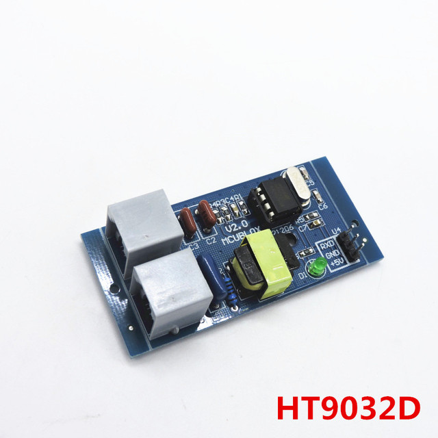 Caller ID module HT9032D circuit mature application telephone recording box FSK