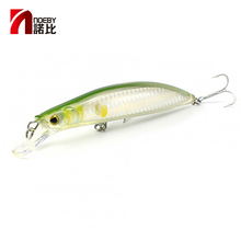 Buy NOEBY Fishing Lures NBL9050 Minnow lure Long Shot 100mm/16g 120mm/22g 135mm/28g Hard Bait Fishing Takcle Pesca Long Tongue Plate directly from merchant!