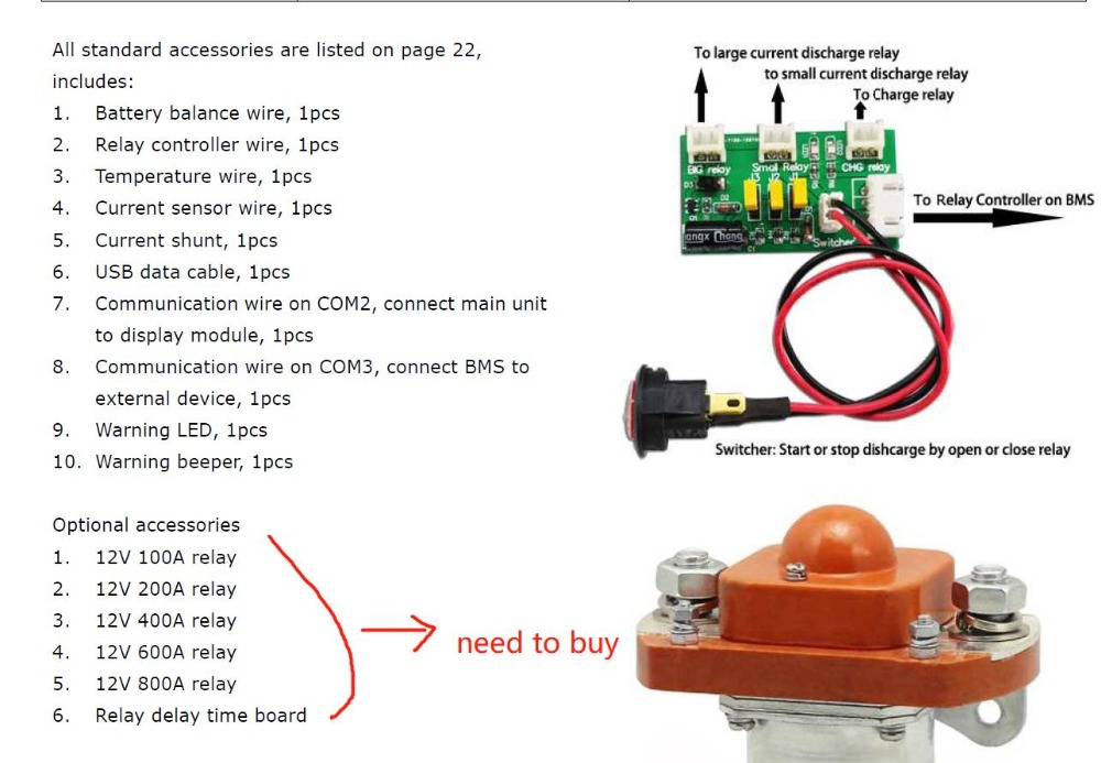Details about Balance 1.2A Chargery BMS8T 2S - 8S LiPo lifepo4 LTO on