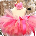 Super Fluffy Baby Girl Tutu Skirt Tutti Fruiti Baby Birthday Tutu Set Toddler Inflant Tutu Skirt For Birthday Party Photo Prop
