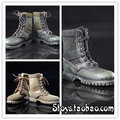 """1/6 scale figure doll shoes for,12"""" action figure doll accessories Combat Boots 16B2215"""