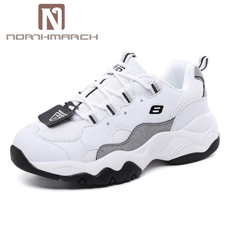 df83d916064d Respirant De Beige Tennis Formateurs Femme Chaussures Feminino forme Plate  Femmes Sneakers blanc Northmarch Casual 2019 Tenis PwqRnf67