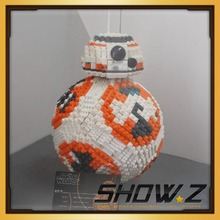 [Show.Z Tribute] LE GO Star Wars MOC BB8 legoelied Compatible